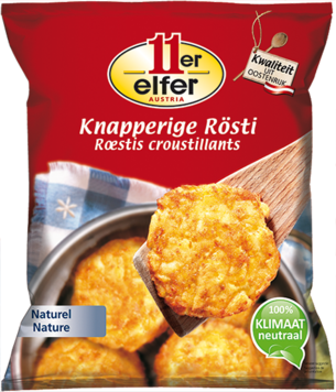 11er Knapperige Rösti, naturel