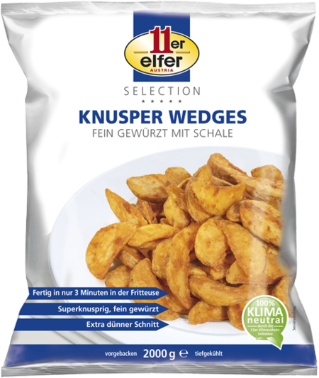 11er Knusper Wedges