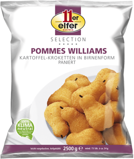 Pommes Williams 11er