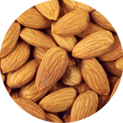 Choice almonds