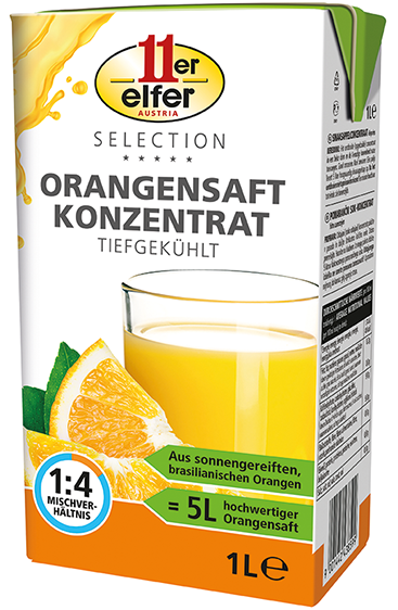 11er Orange Juice Concentrate