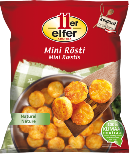 11er Mini Rösti, naturel