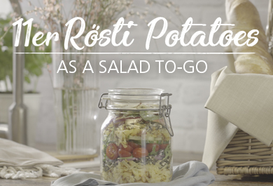 11er Rösti Potatoes| as a salad to-go