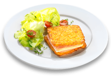 11er Crispy Rosti Toast with lettuce hearts